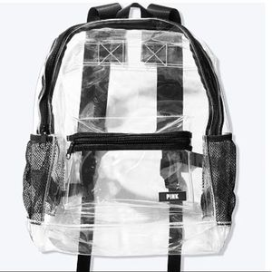 Victoria Secret Clear Campus Backpack